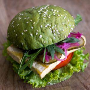 зелений Green бургер
