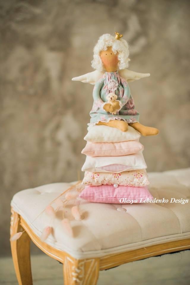"""ангел """"Принцесса на горошине"""""""