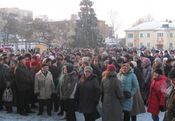 Містяни Козятина страйкують проти закриття Центральної районної лікарні