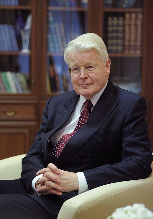 Олаф Рагнар Гримссон бывший президент Исландии