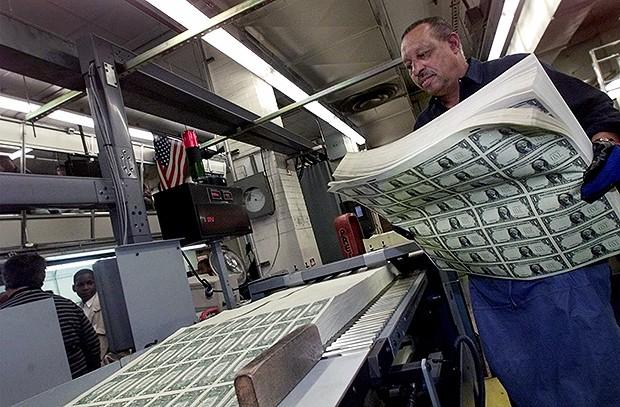 бюро гравировки и печати денег, Вашингтон
