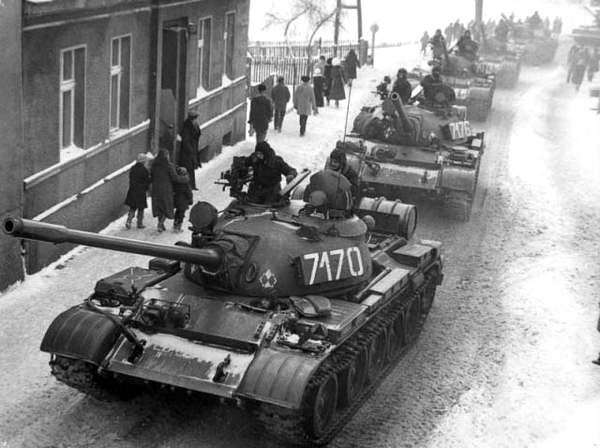 Военное положение в Польше. Декабрь 1981 г.