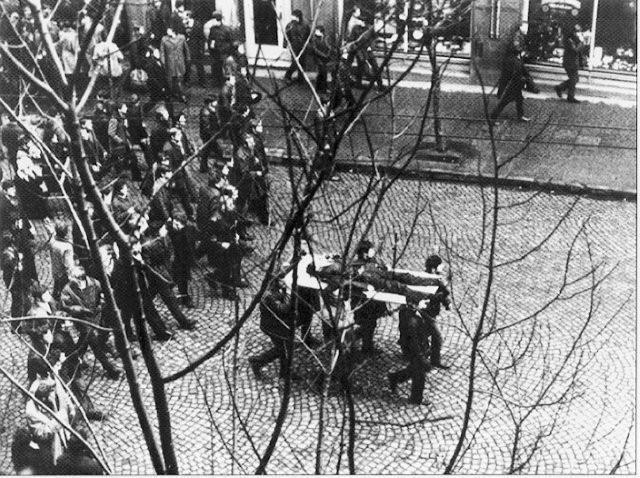 Забастовка в Гданьске. Декабрь 1970 г.