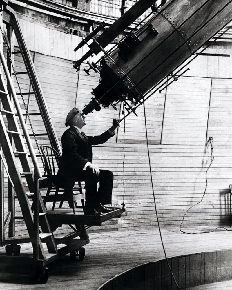 Персиваль Лоуэлл, автор гипотезы о «планете X»