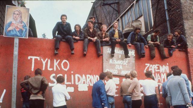 Церковь едина с событиями в Польше 1980 г.