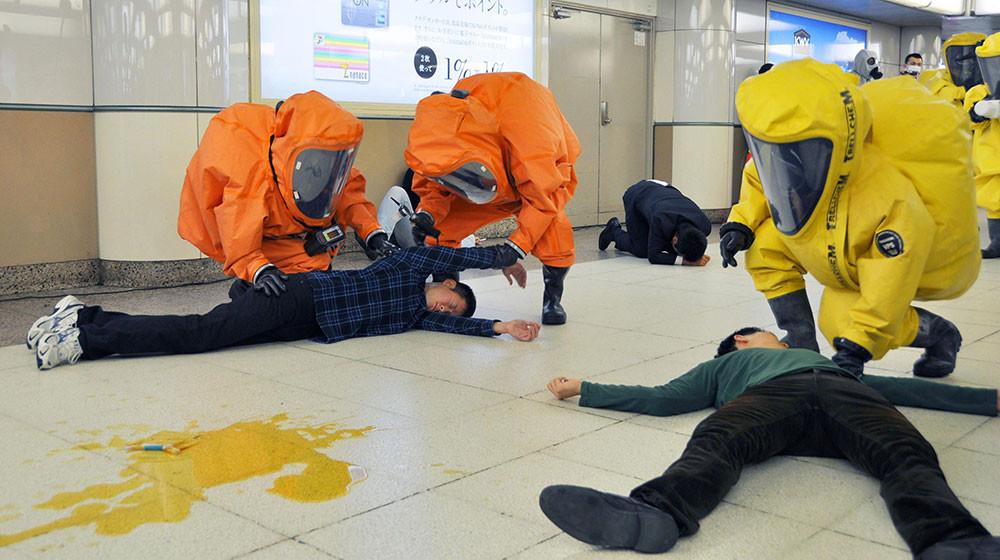 терракт в Японском метро