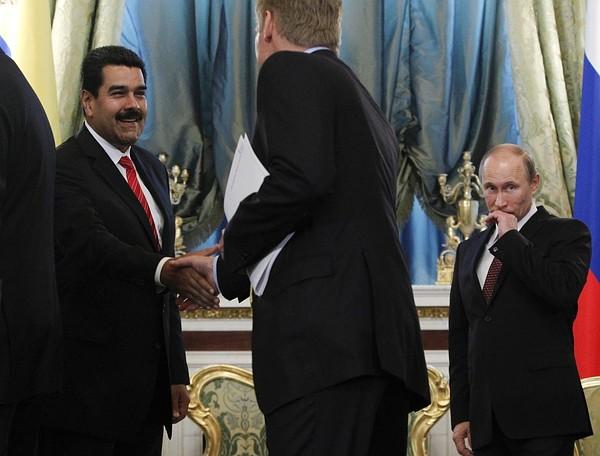 Vladimir Putin, Nicolas Maduro