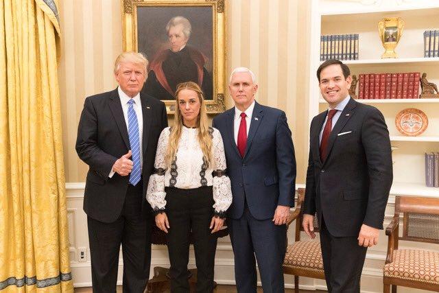 Лилиан Тинтори в Белом Доме
