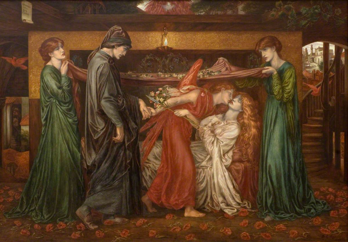 Видение Данте (о смерти Беатриче)