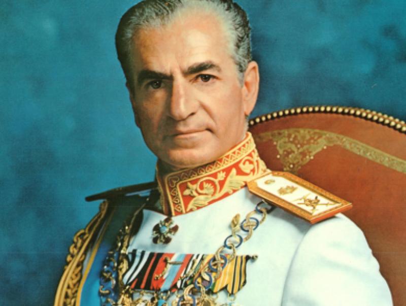 mohammad reza pahlavi a push or a pull