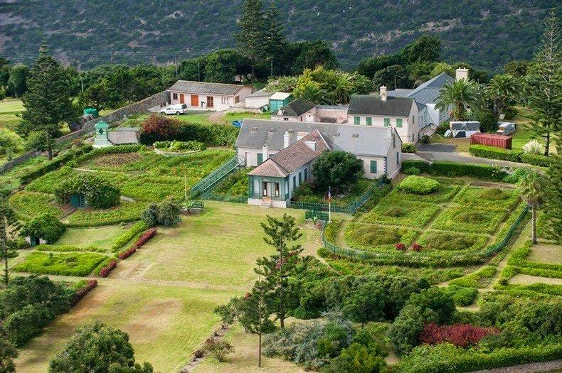 Место заточния Императора Наполеона - поместье ЛОнгвуд на острове св. Елены