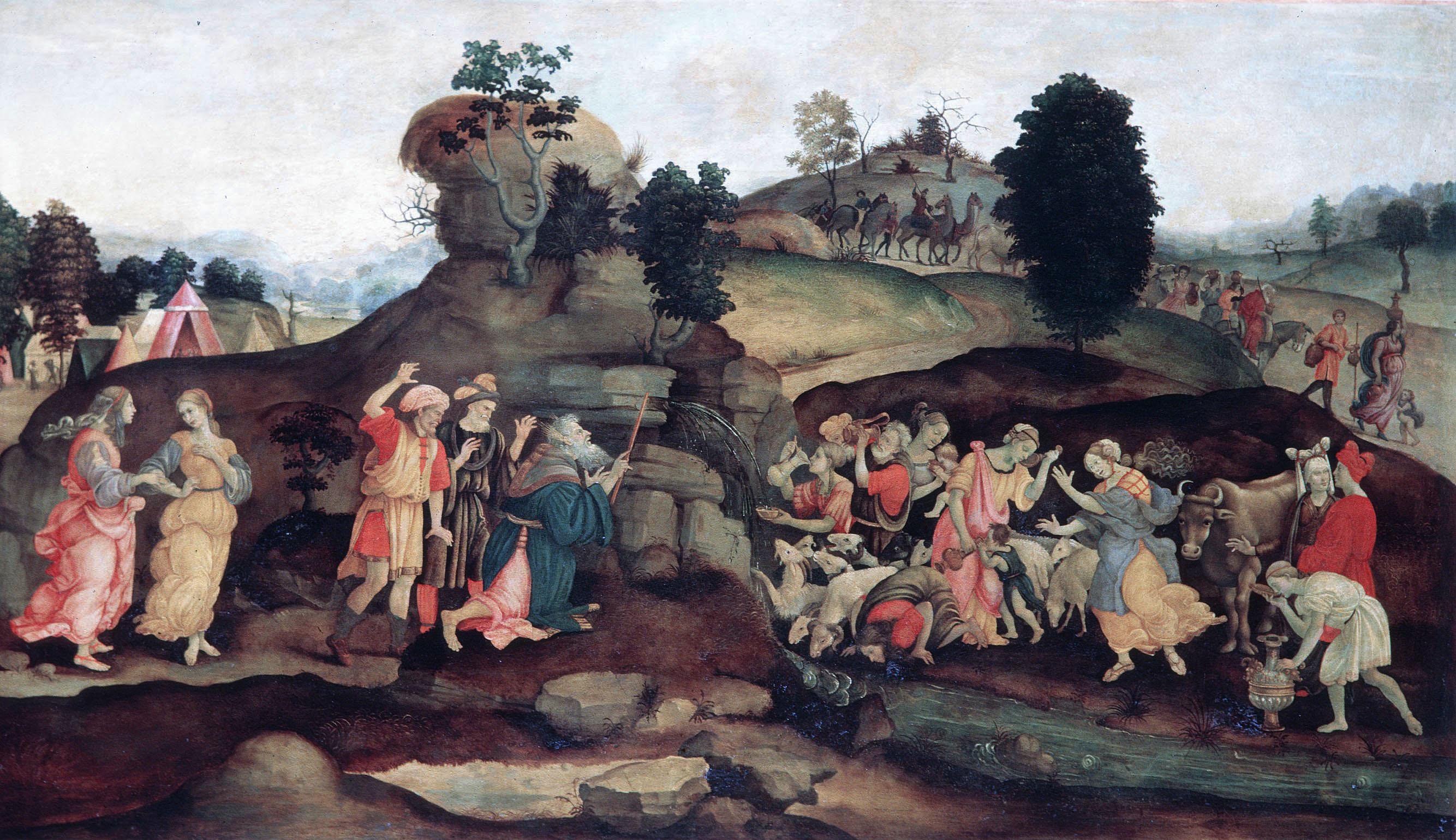 Исход евреев, адаптированный под средневековые стандарты.