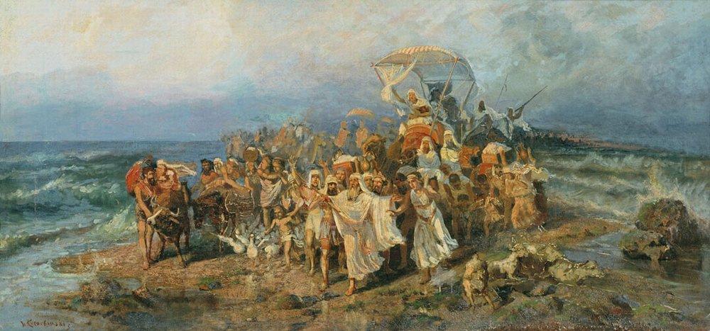 Исход: бегство (от) египтян?