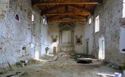 раскопки в Санта-Мария Ассунта в Bonistallo