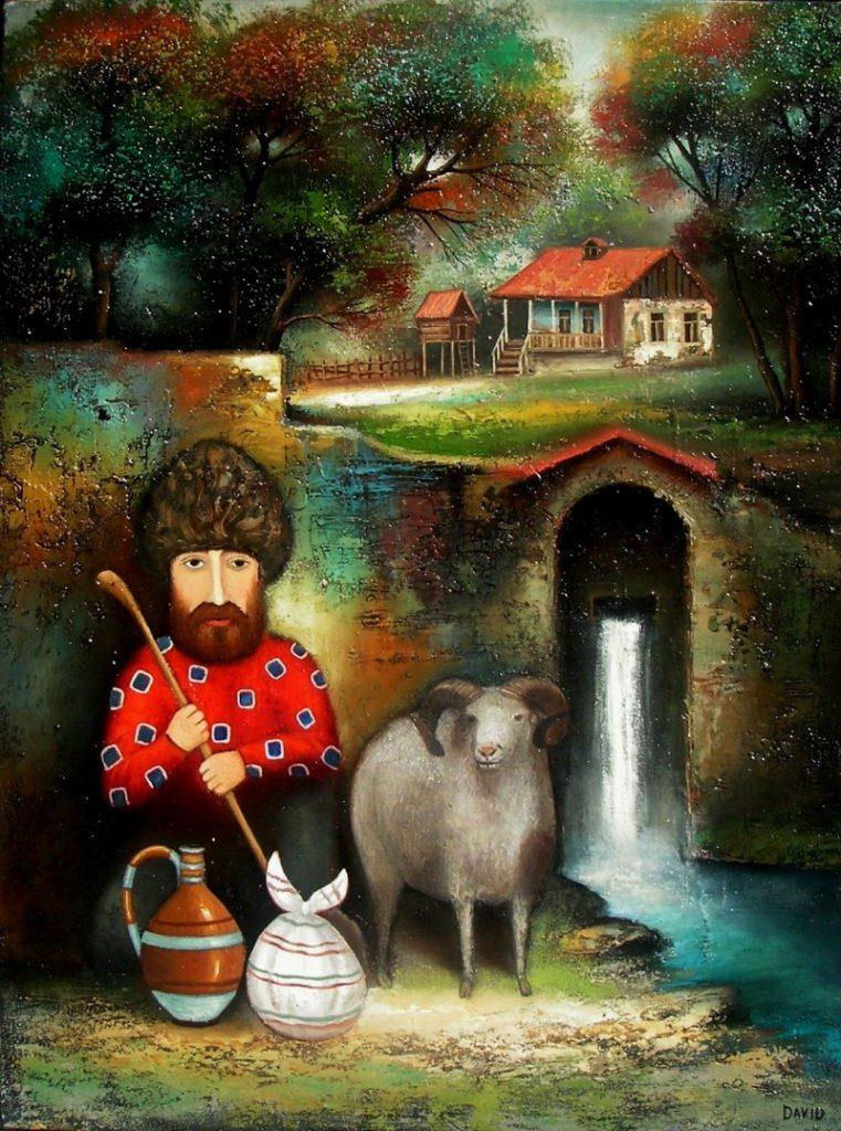 худжник Давид Мартирашвили